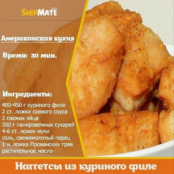 Куриные наггетсы рецепт пошаговый