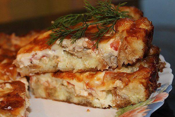 мясной пирог рецепт с фото